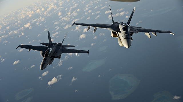 Tällaista hävittäjää Donald Trump tarjosi Suomelle. Kuva: U.S. Pacific Command/Flickr cc