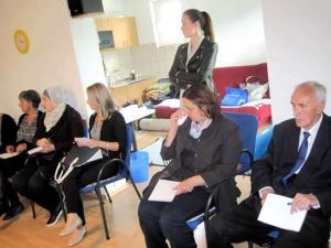 Workshopin osallistujia. Kuva: Katja Vuori