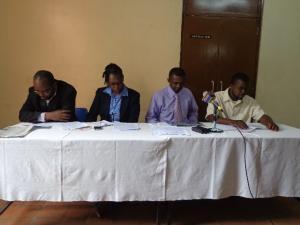 International Peace Bureaun (IPB) hallituksen jäsenenä Otieno on kansainvälisen rauhanliikkeen johtohahmoja