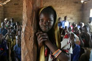 Koululaisia Keski-Afrikassa. Kuva: Hdptcar/Flickr cc