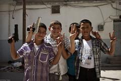 Syyrialaisia lapsia vuonna 2012. Kuva: Cristiaan Triebert/Flickr
